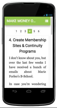 Make Money Online At Home screenshot 1