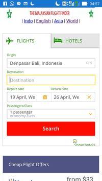 The Malaysian Flight Agency. apk screenshot