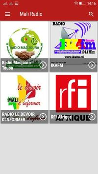 Mali Radio poster