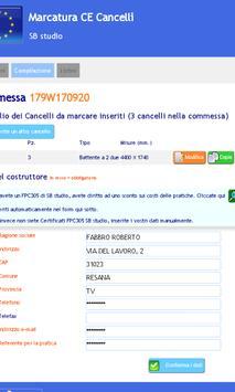 Marcatura CE Cancelli apk screenshot