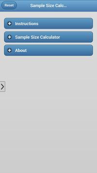 MarketingSampleSizeCalculator screenshot 2