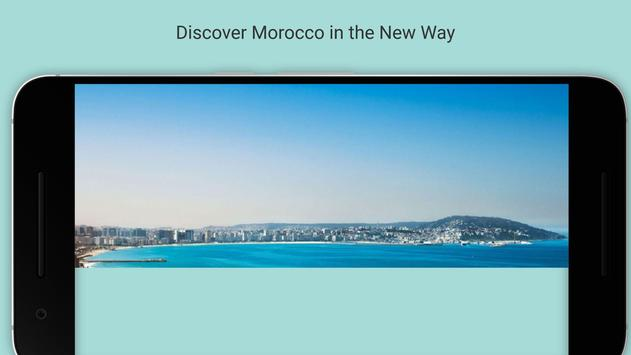 Maroc Holiday poster