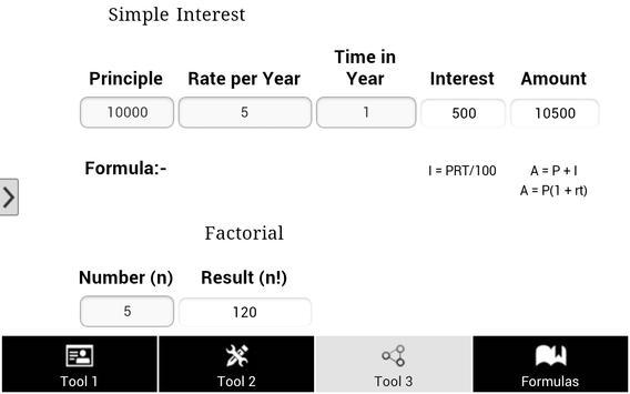 Math Tools & Formula screenshot 15