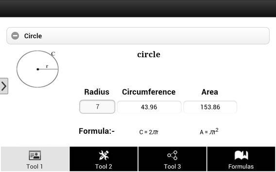 Math Tools & Formula screenshot 3