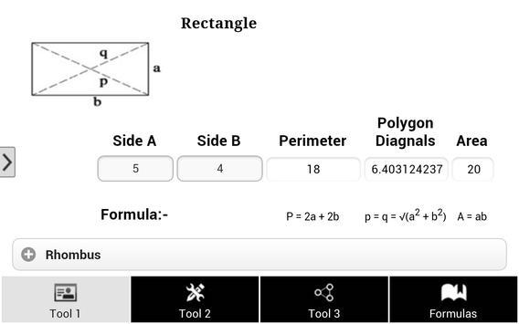 Math Tools & Formula screenshot 5