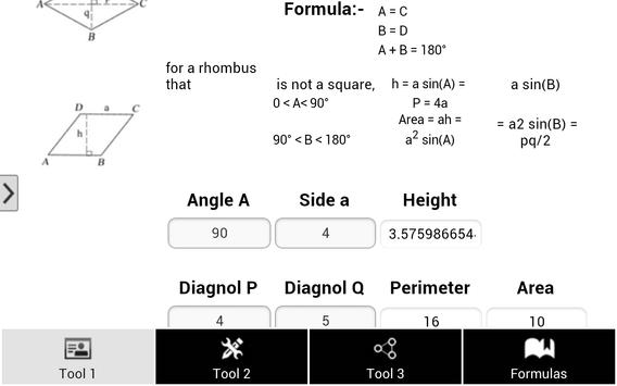Math Tools & Formula screenshot 6