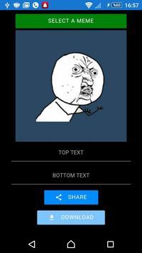 Create a meme! apk screenshot