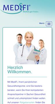 MediFi - Medizin gut finden poster