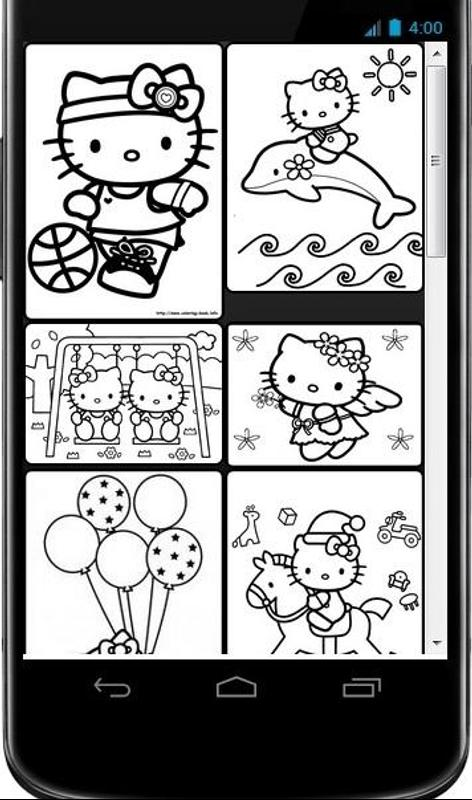 Mewarnai Hello Kitty Best Colouring World For Android Apk Download