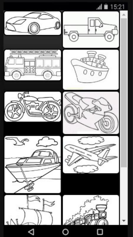 Mewarnai Transportasi For Android Apk Download
