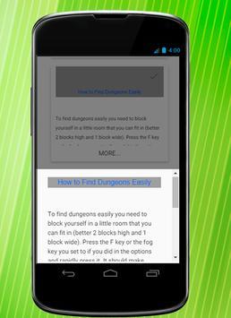 Codes for MC apk screenshot