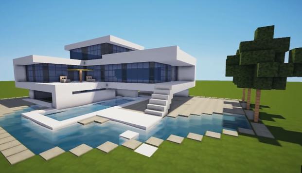 Constru o de casas minecraft apk baixar gr tis aventura for Casa moderna para minecraft