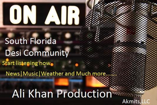MiamiDesiHit Radio Station poster