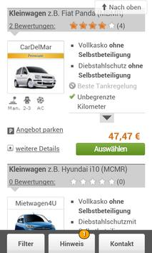 Teneriffa Mietwagen buchen apk screenshot