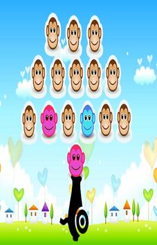 Monkey Cute Shooter apk screenshot