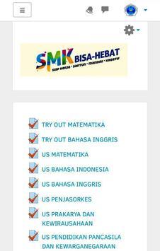 Moodle SMKN1JKT screenshot 1