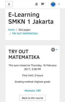 Moodle SMKN1JKT screenshot 3