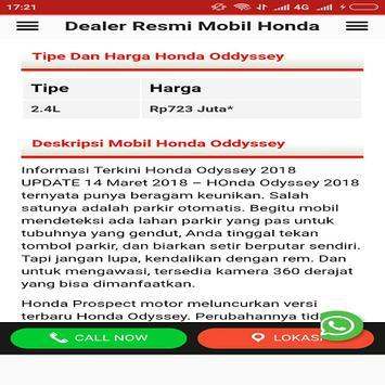 Mobil Hondaku screenshot 1