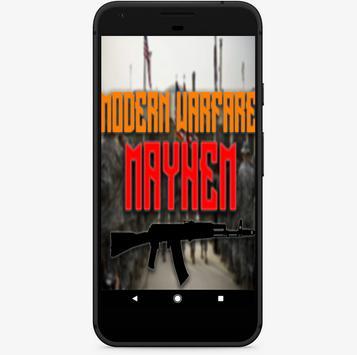 Modern Warfare: Mayhem poster