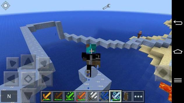 Мод на луки и мечи Майнкрафт apk screenshot