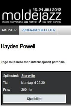 MoldeJazz screenshot 4
