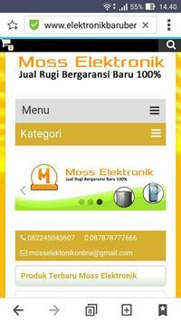 Moss Elektronik poster