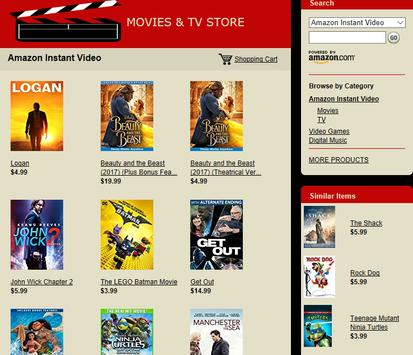 Movies & TV Store – Huge Selection! poster