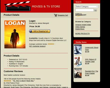 Movies & TV Store – Huge Selection! apk screenshot