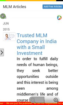 MLM Diary apk screenshot