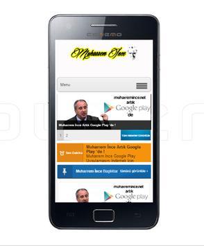Muharrem İnce Web Android apk screenshot
