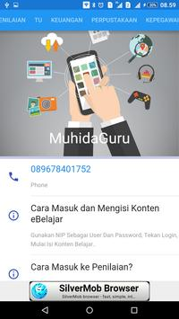 MuhidaGuru apk screenshot