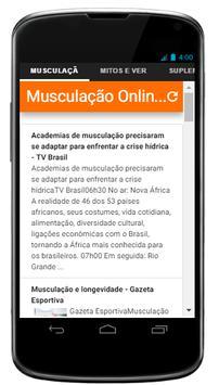 Musculação Online poster