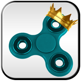 King Fidget Spinner icon