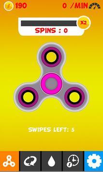 King Fidget Spinner poster