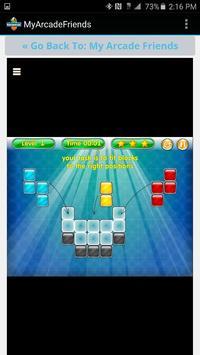 MyArcadeFriends apk screenshot