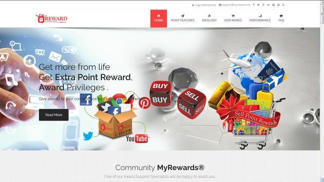 MyReward apk screenshot