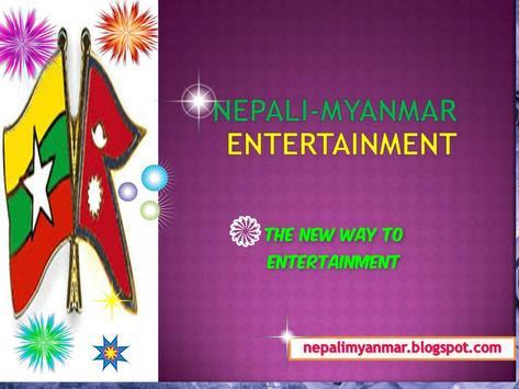 Myanmar Nepali  Radio poster