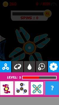 Meu spinner virtual poster