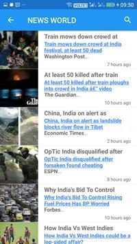NEWS WORLD screenshot 1