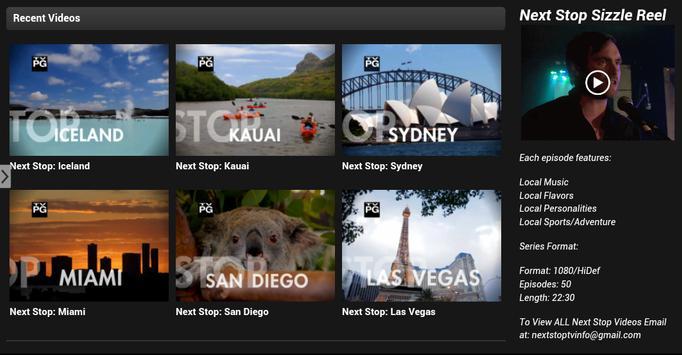NEXTSTOP.TV apk screenshot