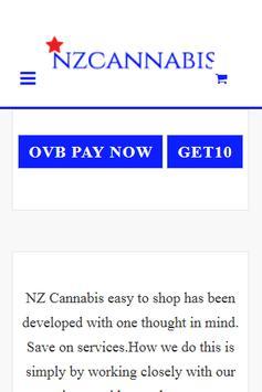 NZ Cannabis poster