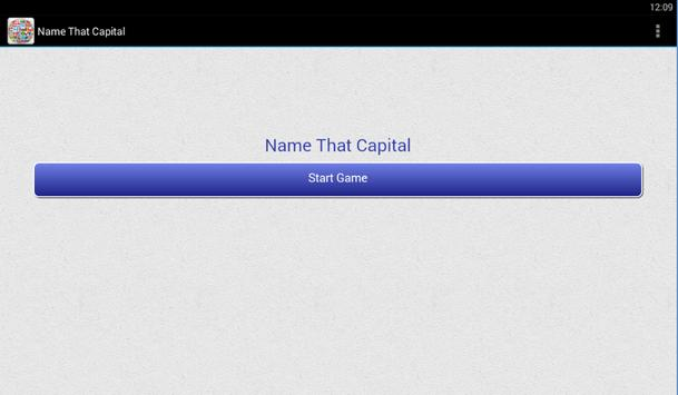 Name That Capital apk screenshot