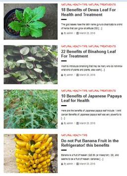 Natural Health Tips screenshot 2