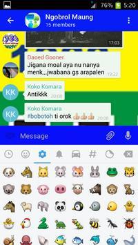 Maung Bandung Messenger apk screenshot