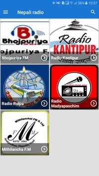 Nepali Redio F.M poster