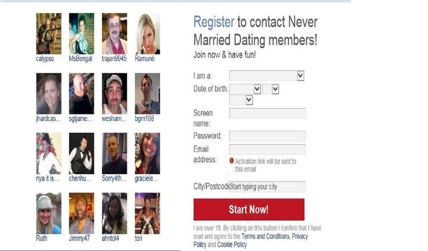 married and dating app