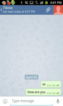 New Chat Telegram screenshot 1