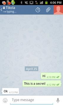 New Chat Telegram screenshot 2