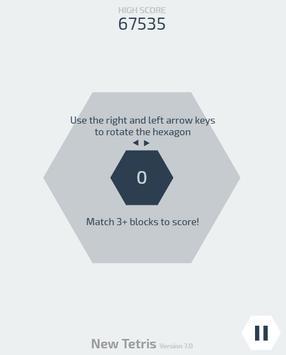 New Tetris apk screenshot