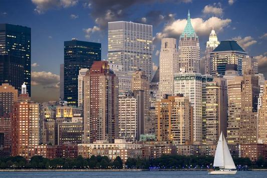 New York City Landscape poster
